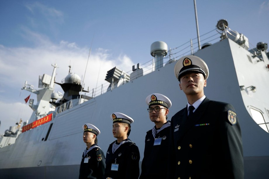 China's navy to join 26 other nations in military exercises off Australia's north coast