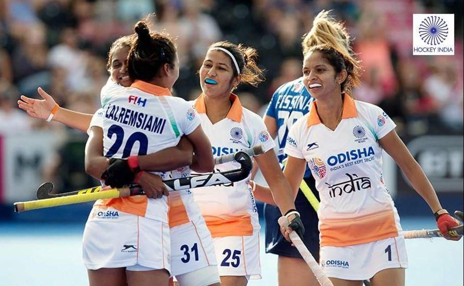 Indian women's hockey team produce stellar performance