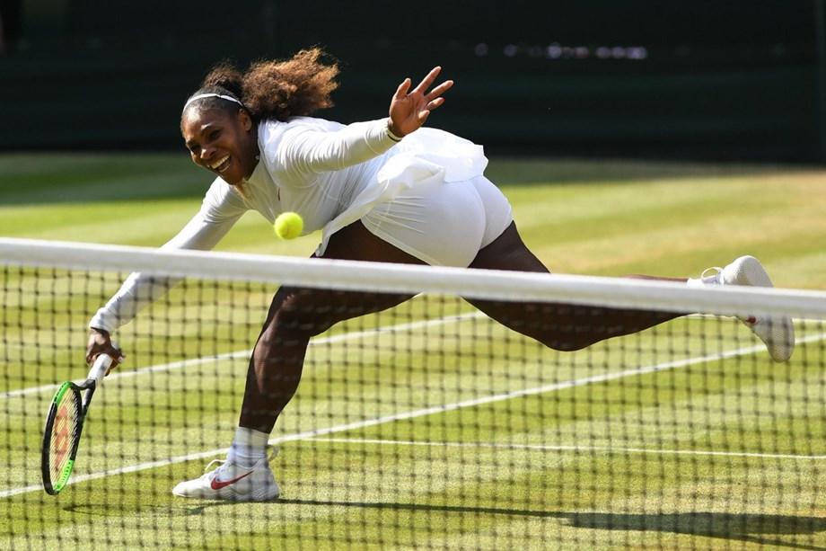 Twenty-three times major champion Serena Williams suffered worst loss
