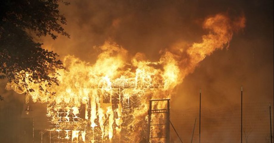 Firefighters struggle against new fire eruption in Northern California; homes threatened