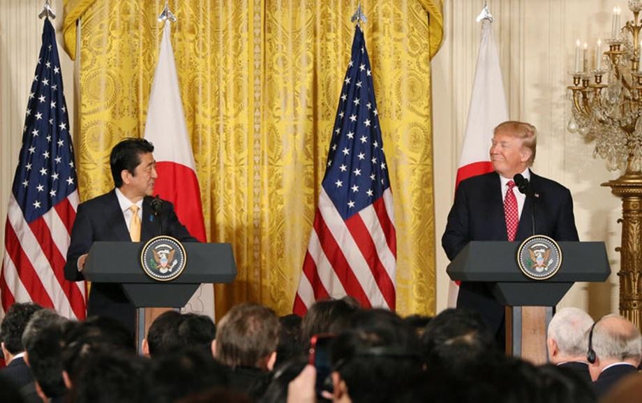 Japan's PM, Shinzo Abe, to visit US for talks with Trump