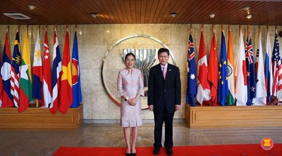 HRH Princess Bajrakitiyabha of Thailand visits ASEAN Secretariat
