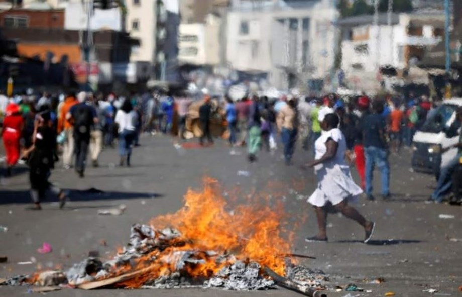 Zimbabwe's govt vows to crack down opposition dissent