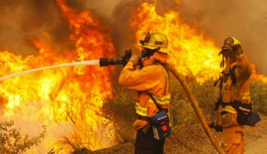 Firefighters go from fire to fire to tackle flames
