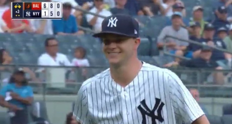 New York Yankees right-hander Sonny Gray becomes latest major-leaguer