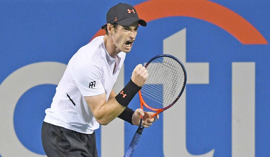 Three-time Grand Slam winner Andy Murray collects biggest victory