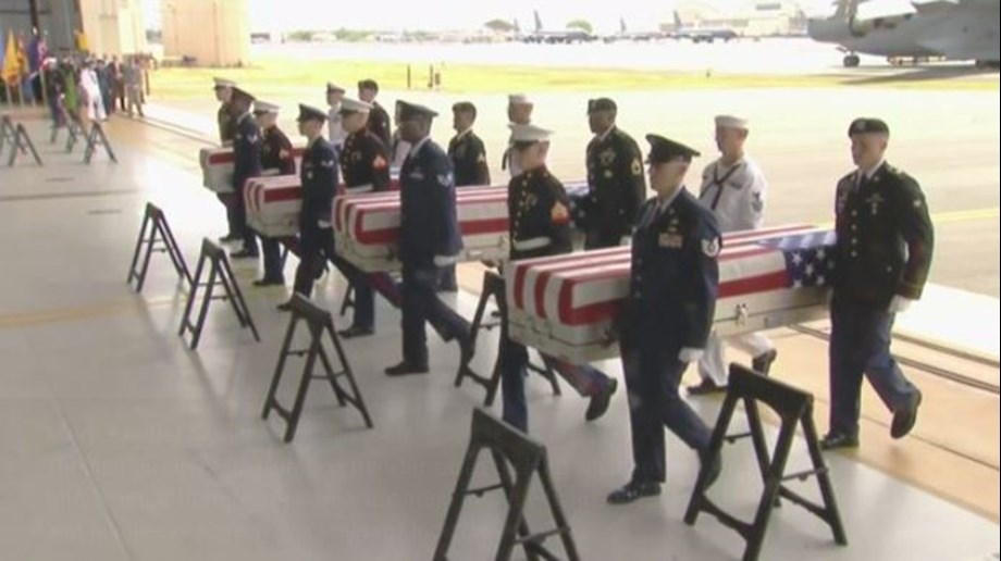 Pence welcomes Korean War dead: 'Our boys are coming home'