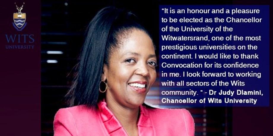 Higher Edu minister Pandor congratulates first black female Chancellor of Wits University