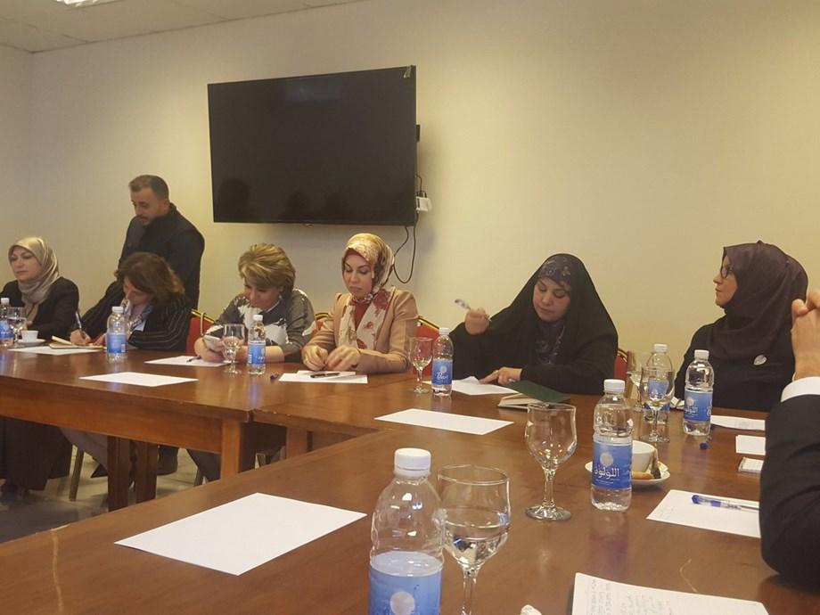 Women activists seek to boost women's role in Iraqi politics