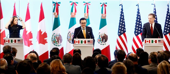 Mexico hopes meeting of ministers to decide fate of NAFTA