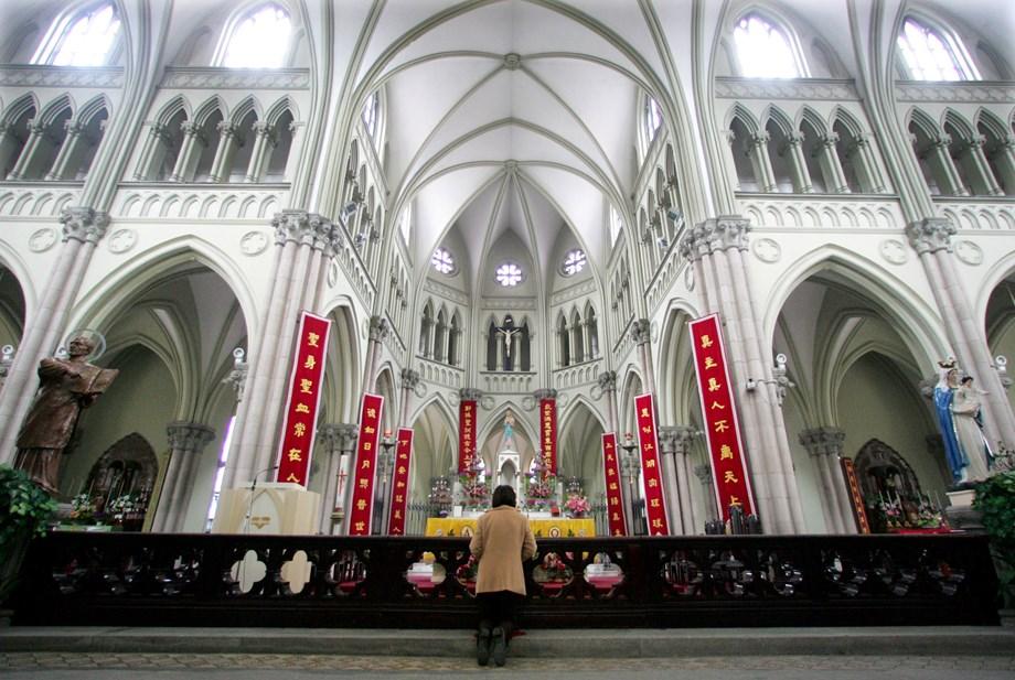 China's real efforts towards establishing Vatican relations