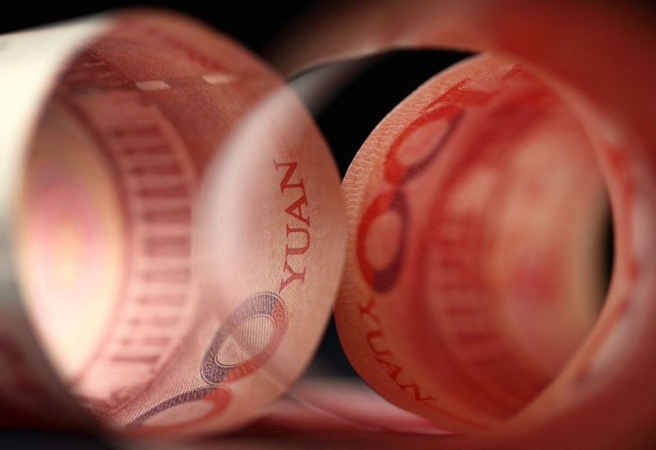 Yuan near more than 14-month low, Aussie pressured