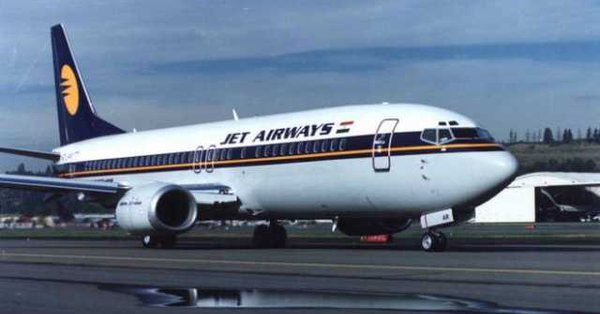 Jet Airways shares fell nearly 6 percent to a low of Rs 312.25 on BSE