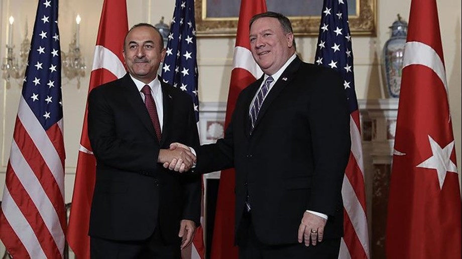 """Had """"constructive"""" meeting with Pompeo, says Turkish ministe"""