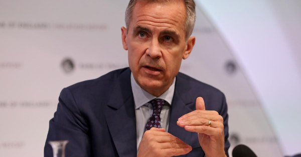 "Bank of England Guv warns of ""uncomfortably high"" risk of no-deal Brexit"