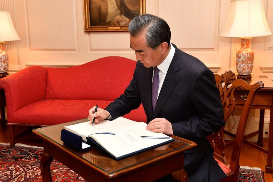 Wang Yi hopes North Korea- US talks to continue towards peace