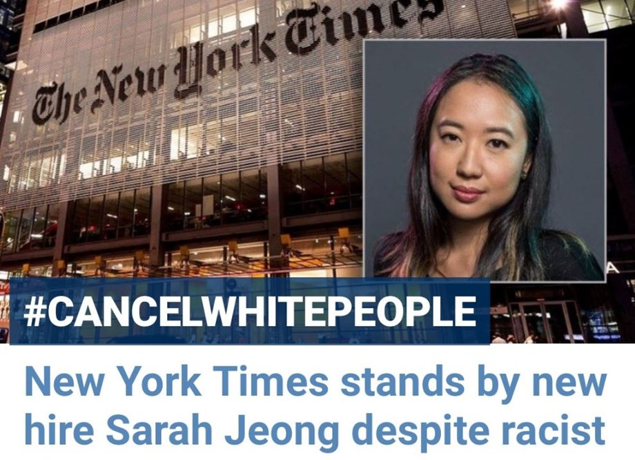 New York Times defends its new hire Sarah Jeong amid racism controversy