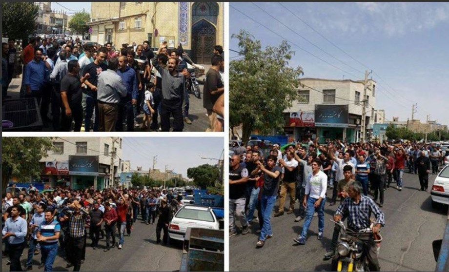 Sporadic protests take place in Iran for fourth day as US sanctions loom