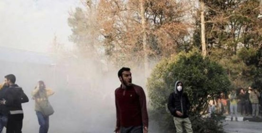 Religious school in Karaj province near Tehran attacked by Iran protesters
