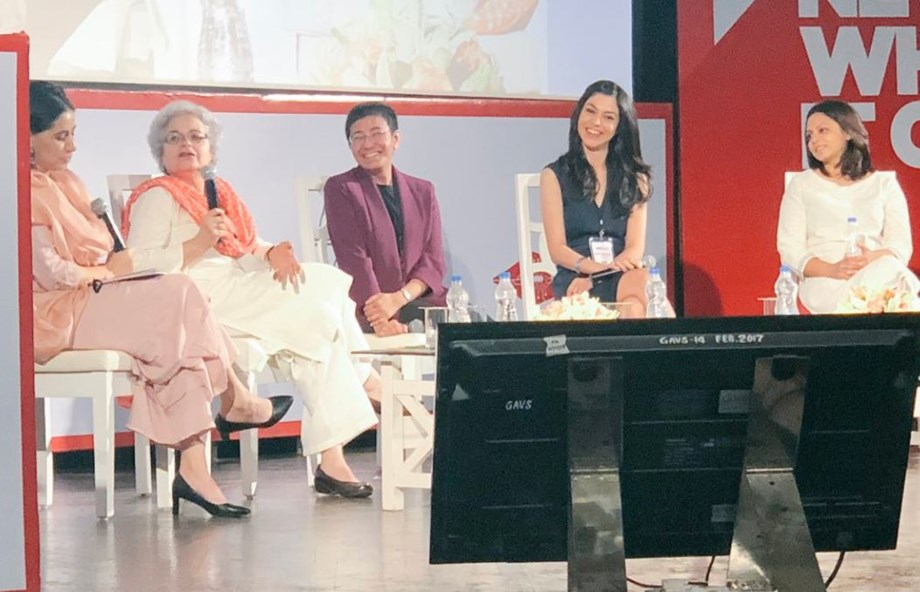 """""""Women Editors: Always the Bridesmaid"""" ongoing two-day international media forum"""