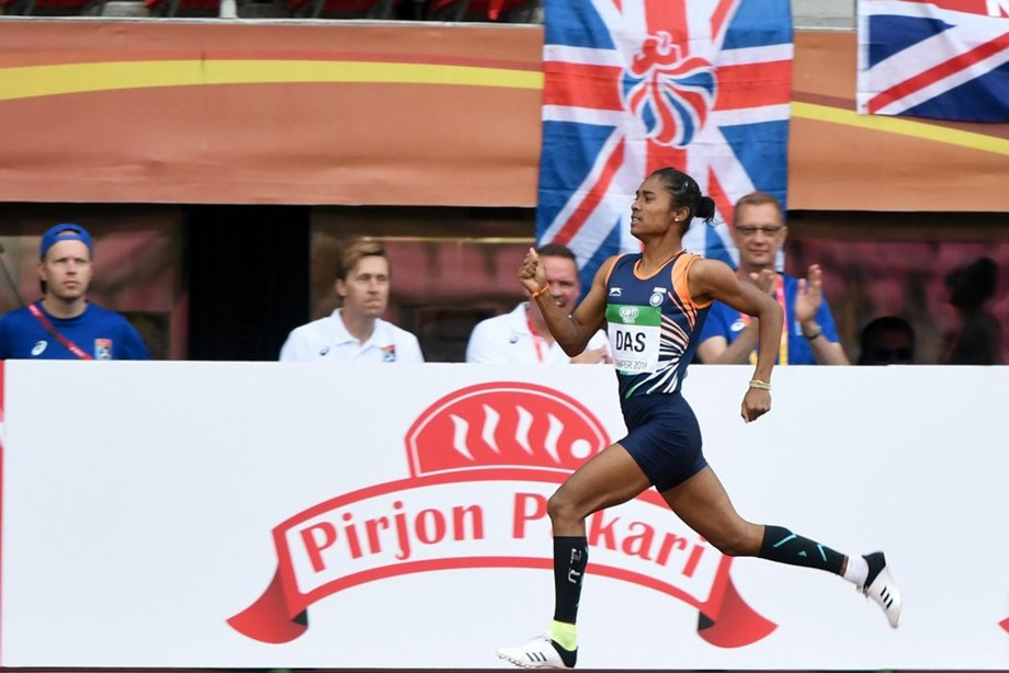 Hima Das receives Rs 20 lakh grant from Oil India