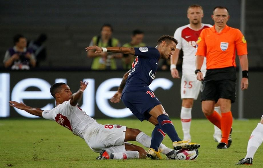 Neymar makes first club appearance since February