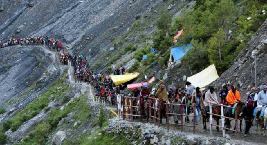 Ongoing Amarnath Yatra suspended due separatist-called protest shutdown
