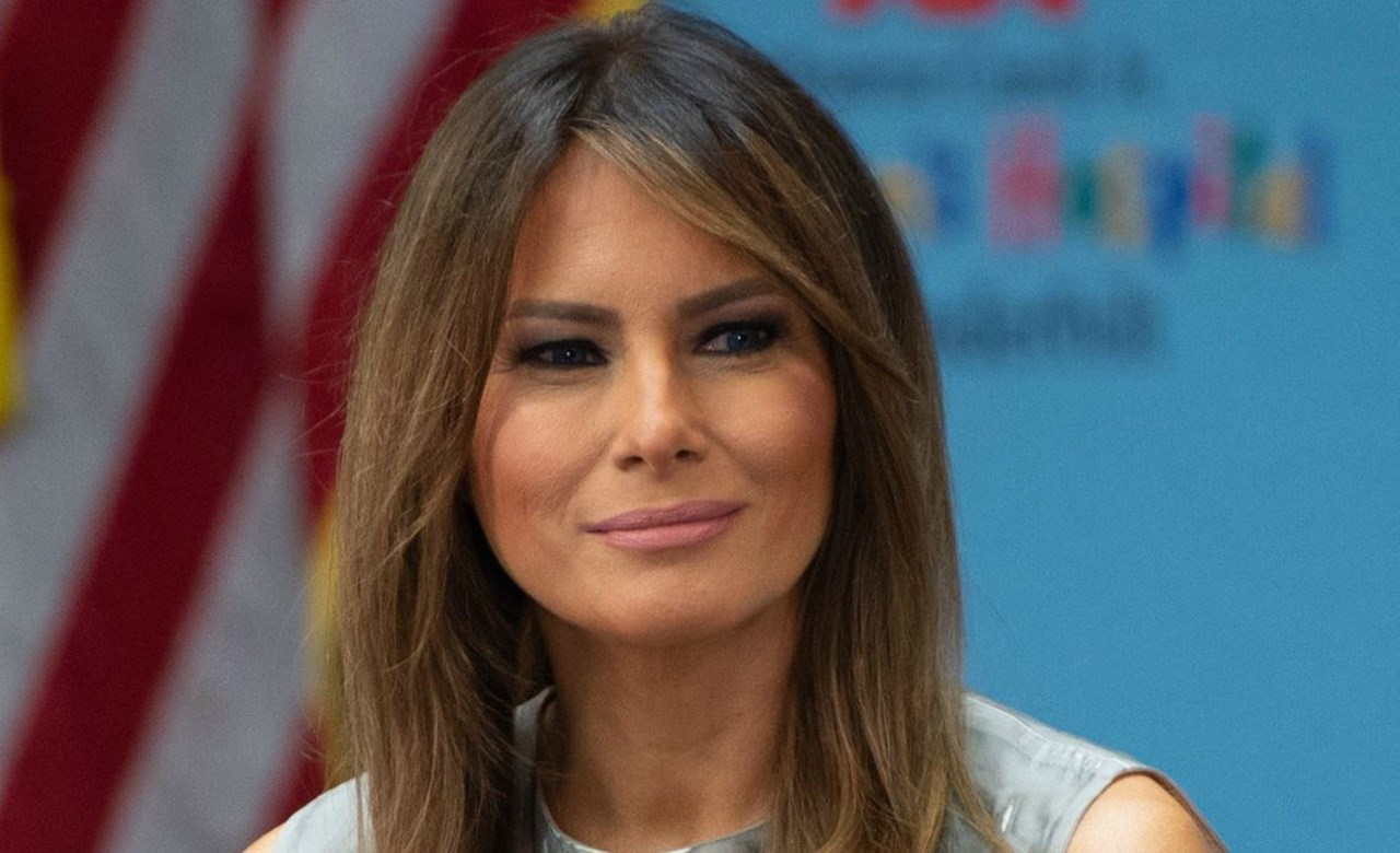 US First Lady Melania Trump praises NBA superstar LeBron James for his charity work