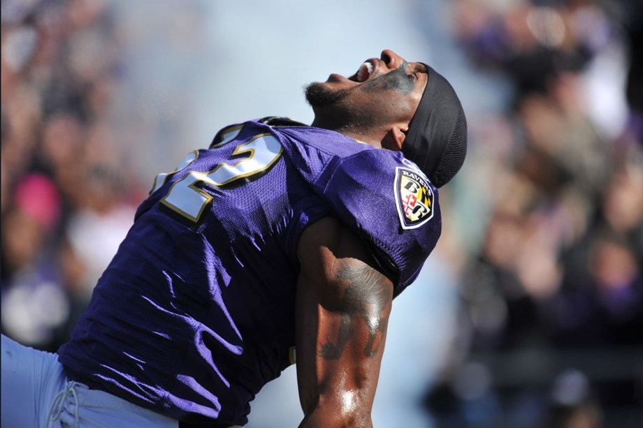 Baltimore Raven lives up to his reputation