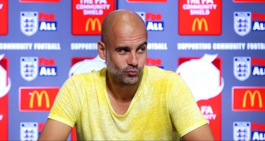 Fear of failure drives him on at Man City, says Pep Guardiola