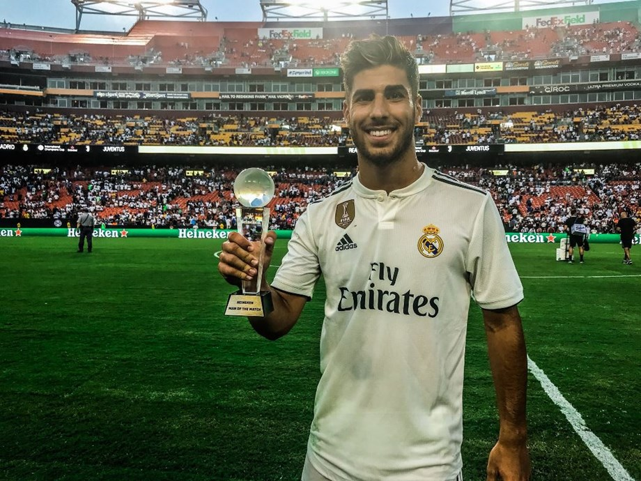 Marco Asensio makes immediate impact by scoring two early second-half goals