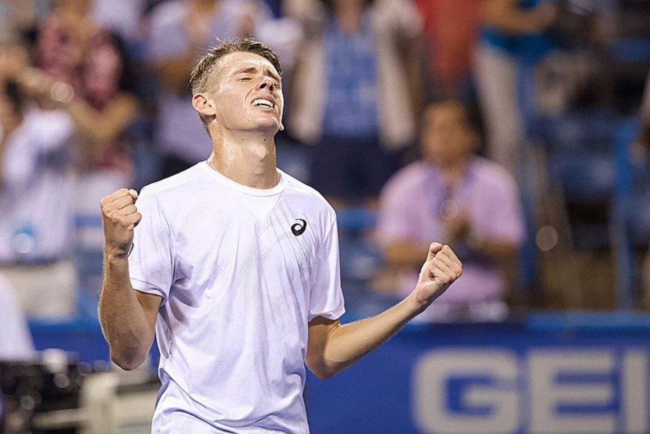 Australian 19-year-old Alex De Minaur advances to ATP Washington Open final