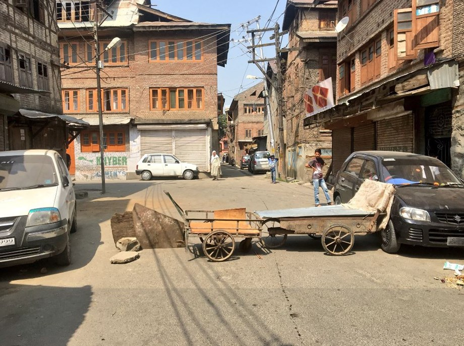 Complete shutdown in Kashmir over protests regarding validity of Article 35-A