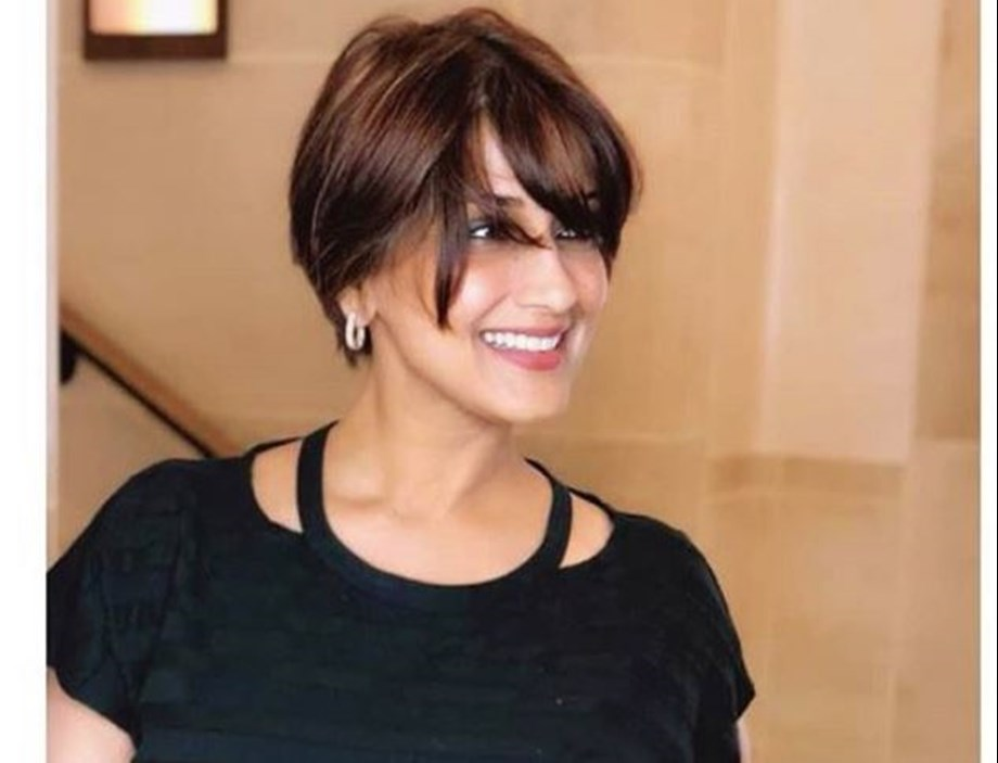 Sonali Bendre says happy and staying postive by looking for joy