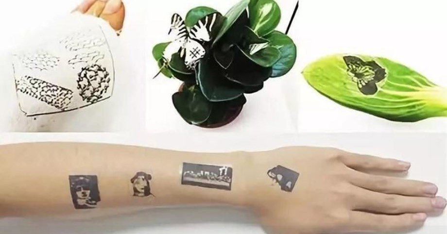 Chinese scientists develop skin-like electronic tattoos