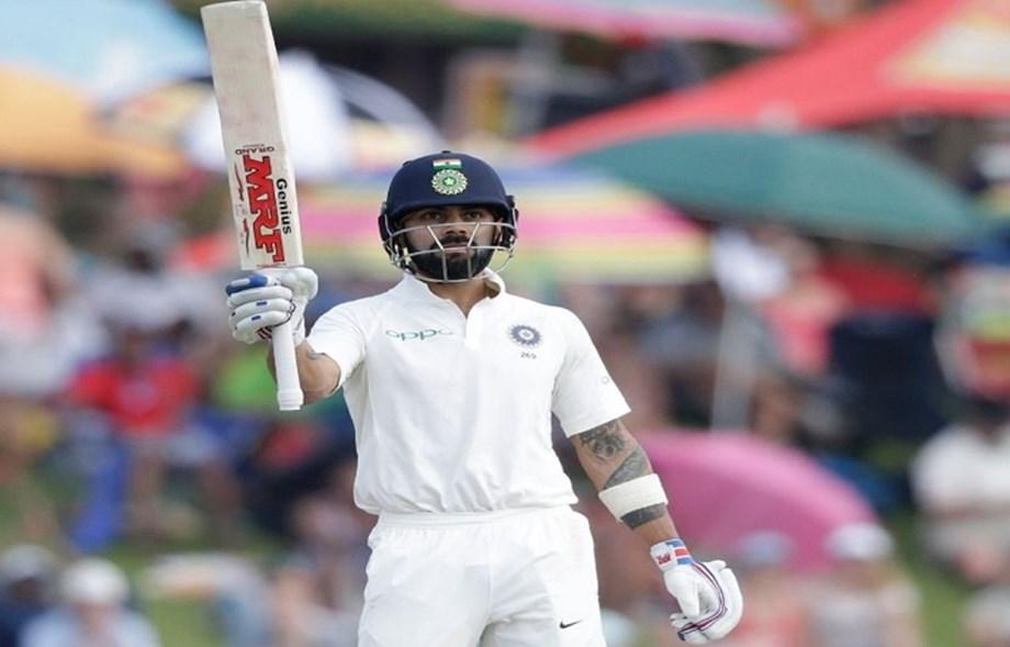 Kohli on top in ICC rankings as best test batsman