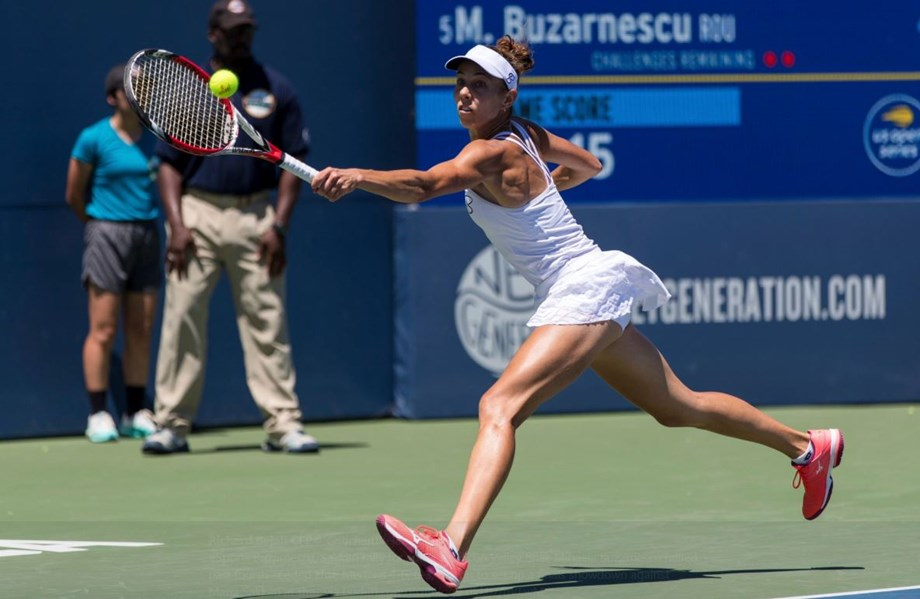 Mihaela Buzarnescu cruises to her first WTA title