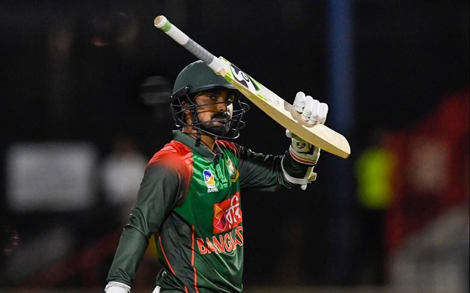 Liton Das highlights Bangladesh's effort in reaching 184 for five batting first