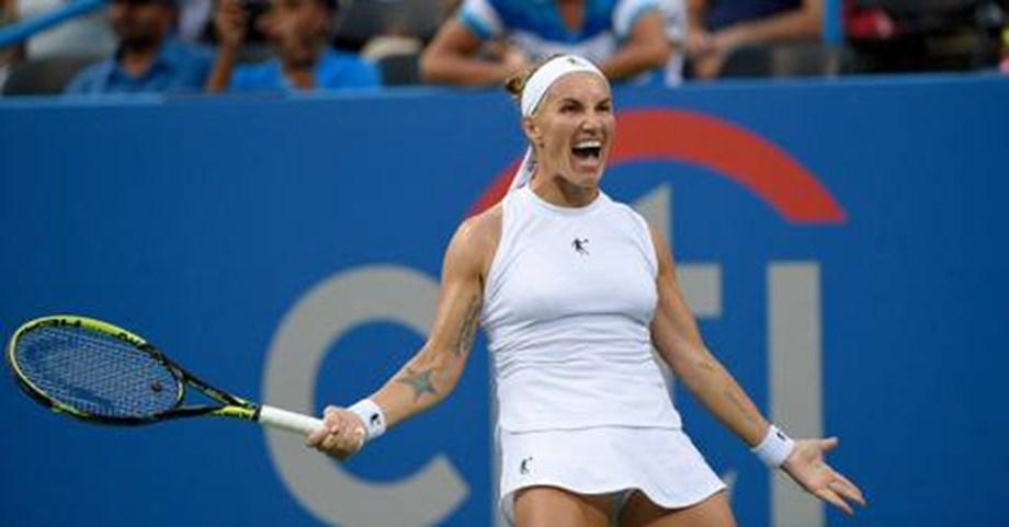 Svetlana Kuznetsova saves four match points