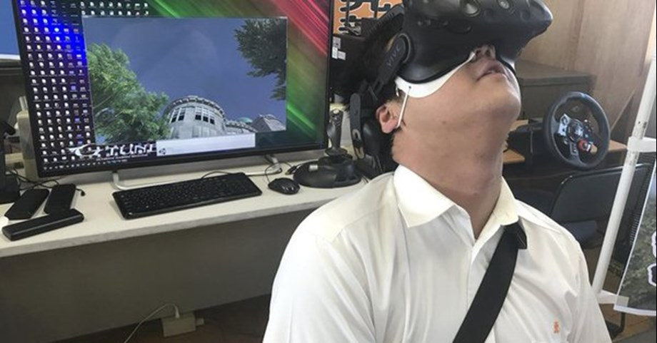High school students in Japan use VR to recreate Hiroshima bombing