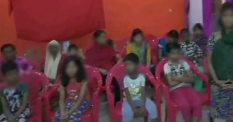 24 girls rescued from shelter home in Deoria in UP