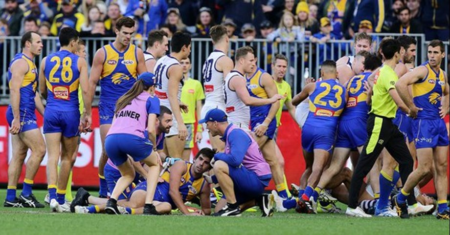 Police to assess punch in Perth game
