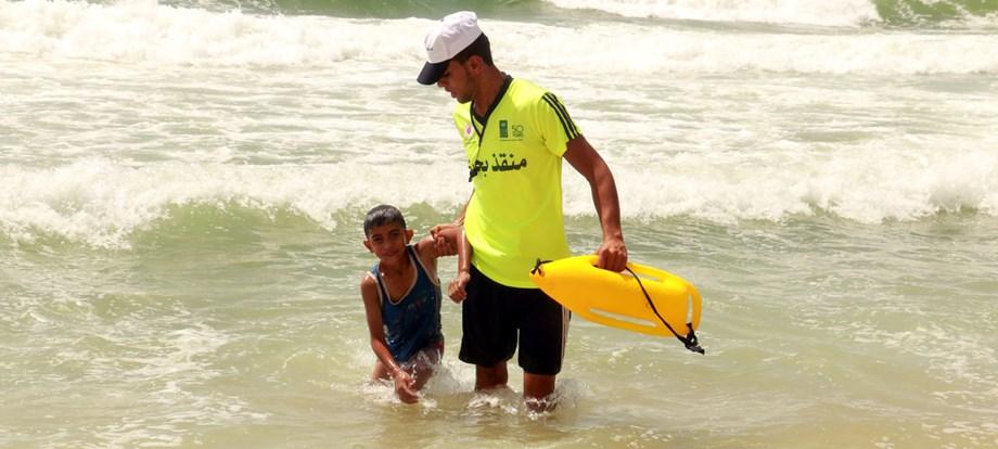 UNDP provides lifeline to Gaza lifeguards