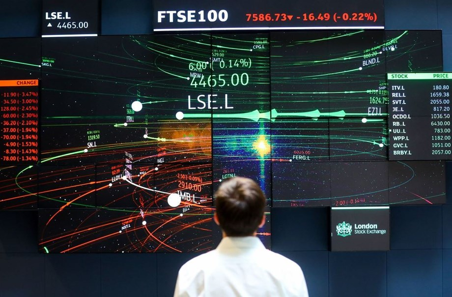 FTSE gains as stronger commodity stocks outweigh disappointing results