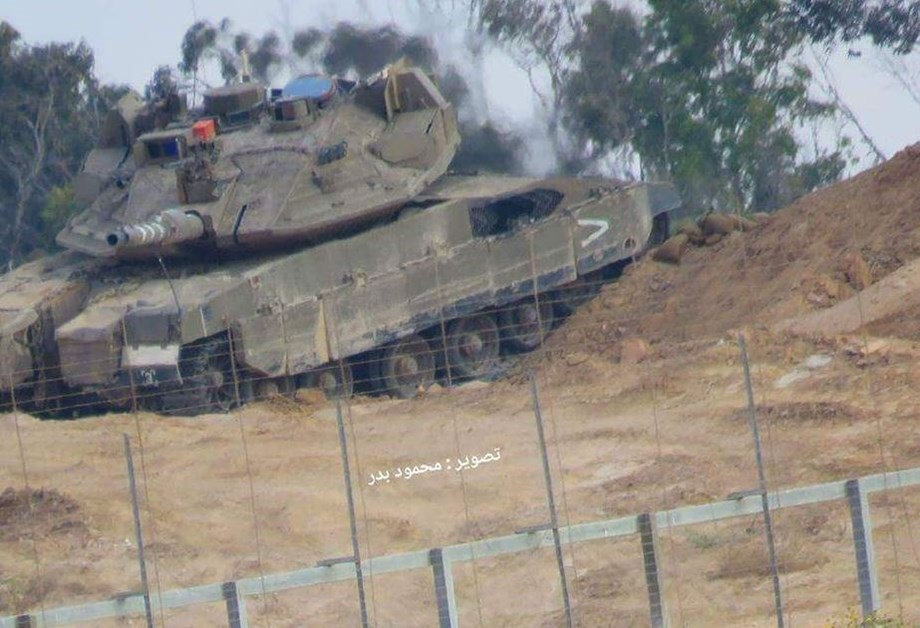 Israeli tank shelling of Hamas site in Gaza Strip kills at least two militants