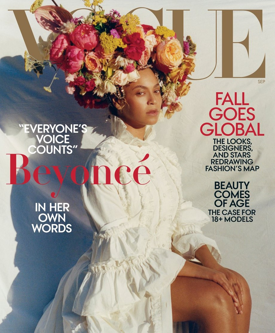 Beyonce takes on post-maternity curves, shoots for Vogue cover