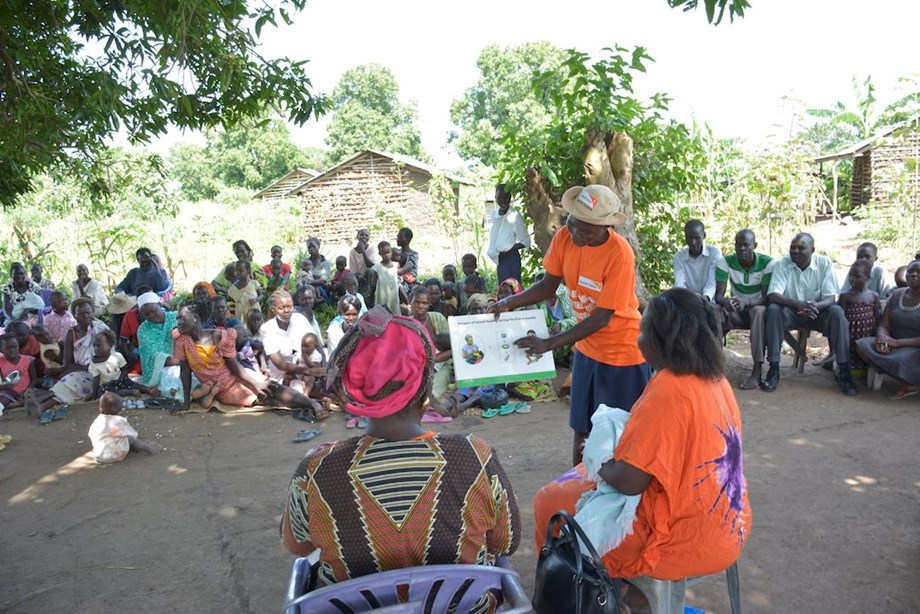 World Vision with WFP and UNICEF promote breastfeeding in South Sudan
