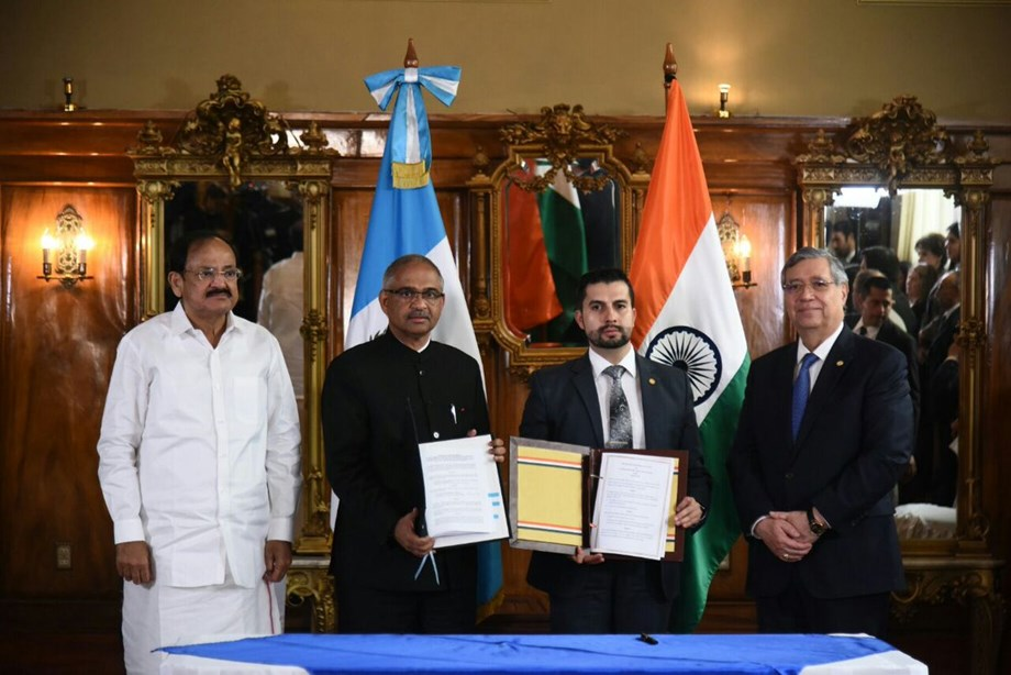 India and Guatemala agree to support each other for non