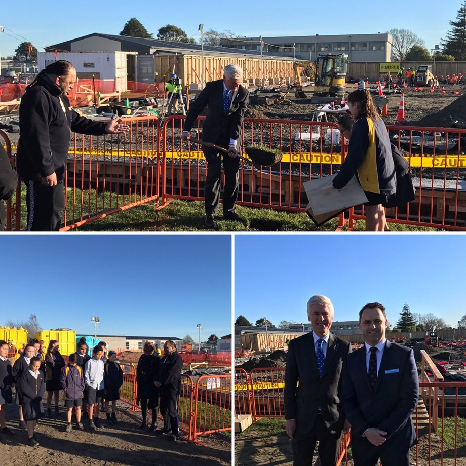 Hornby High School students benefiting from completion of stage one of $26 min redevelopment