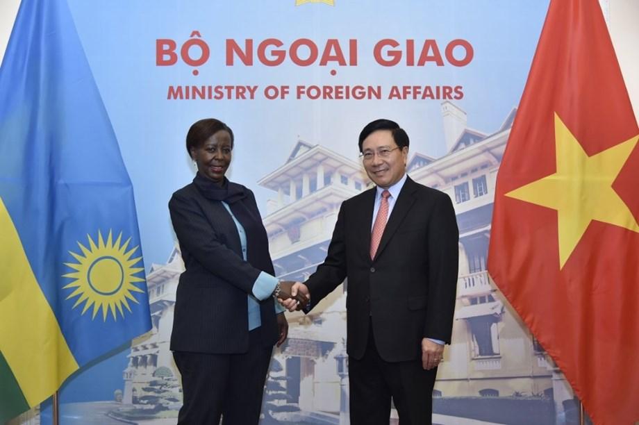 Vietnam, Rwanda to strengthen bilateral ties